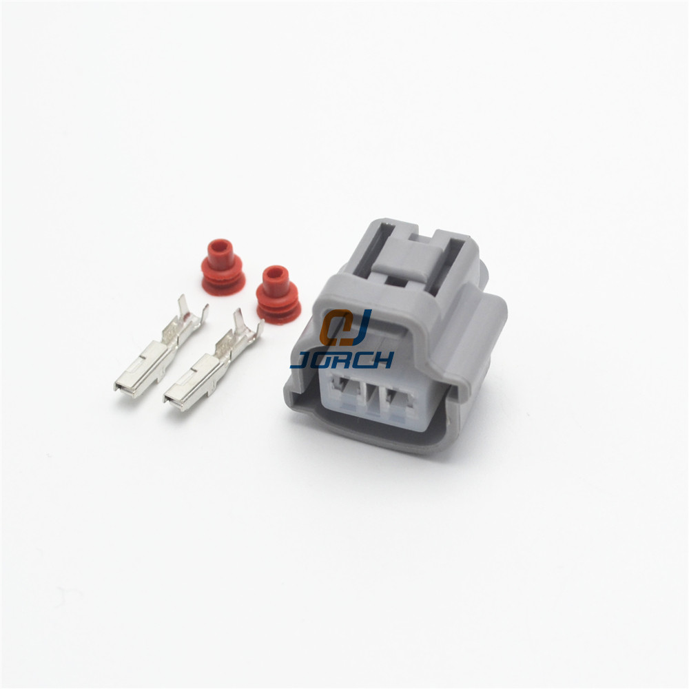 Free Shipping 10sets 2pin Sumitomo Toyata Auto Plastic Electrical Plug Wire Waterproof Connector 90980-11019