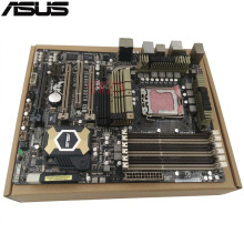 original Used Desktop motherboard For ASUS SaberTooth X58 Support LGA1366 I7 Maximum DDR3 24GB 2*SATA III  ATX Main Board