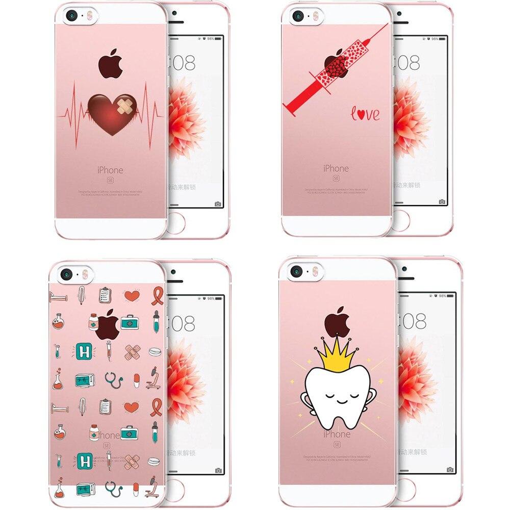 Helpful Spain Cute Cartoon Nurse Doctor Dentist Soft Tpu Phone Case For Iphone X 10 Se 5 5s 6 6s 6plus 7 7plus 8 8plus Xr Silicone Cover Volume Large Phone Bags & Cases