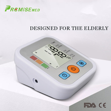 pr+mise Automatic digital upper arm blood pressure monitor heart rate pulsometer portable sphygmomanometer pulse meter