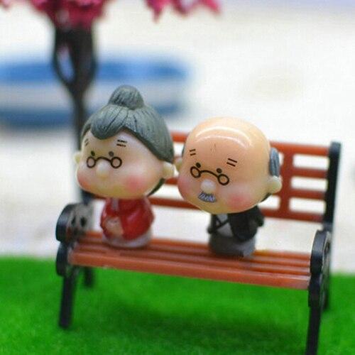 12 шт. мини-сад орнамент миниатюрный парк скамейки ремесло сделай сам дом Декор скамьи модели