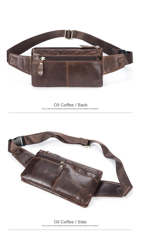 3e315178dcbf WESTAL сумка на пояс мужская поясная сумка мужская сумка для ...