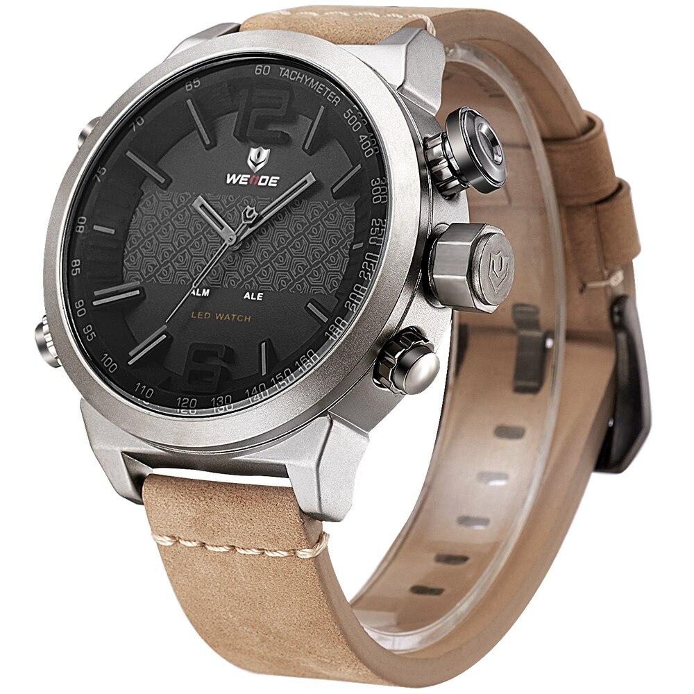 Weide Brand 2017 Nuevos Hombres Calientes Relojes Deportivos LED - Relojes para hombres - foto 4