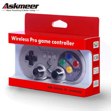 ASKMEER Switch PRO Game Joystick Controller Wireless Bluetooth Gamepad for Nintend Console/PC/Android 3-in-1
