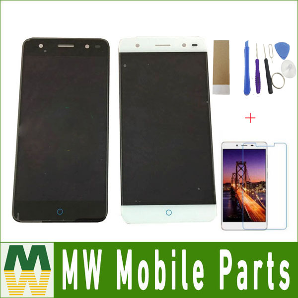 1PC/ Lot Black White Gold Color For ZTE Blade V7 Lite BV0720 LCD Display + Touch Screen Assembly Digitizer with Free Kit