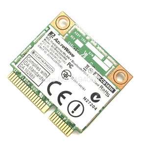 Image 4 - AzureWave AW CB160H Broadcom BCM94360HMB 802.11AC 1300Mbps Kablosuz WIFI WLAN Bluetooth 4.0 Mini PCI E Kart + 20cm MHF4 Anten