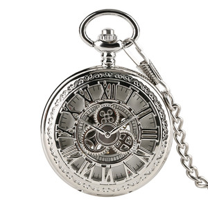 Image 5 - New Arrival Fashion Sun Carving Graved Mechanical Self wind Pocket Watch Men Women Gift for Pocket Watch Masculine Necklace