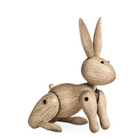The Danish Rabbit Puppet Puppet Nordic Wood Home Furnishing Ornaments Wholesale Custom Soft Decorations Sample Room