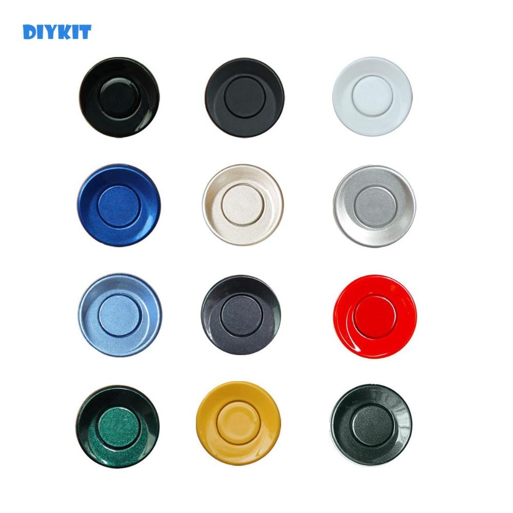 DIYKIT Wholesale 4pcs Assistance Reversing Radar Rrobe Parking Sensors Black Blue Gray Red White Silver Green Yellow