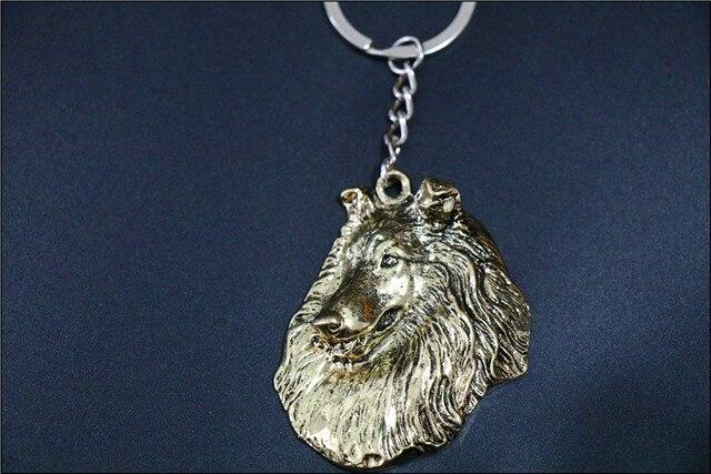 Купить шероховатая собака ожерелье ручной работы брелок рельефная подвеска картинки