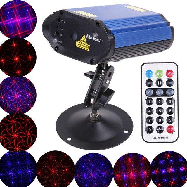 Disco podium lichten rood/blauw Laserlicht Afstandsbediening ...