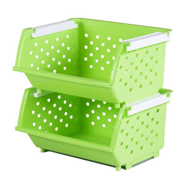 Charmant Increased Thickening Shipping Fruits And Vegetables Plastic Kitchen  Shelving Storage Rack Storage Rack Stacked Storage Baskets In Storage  Baskets From Home ...