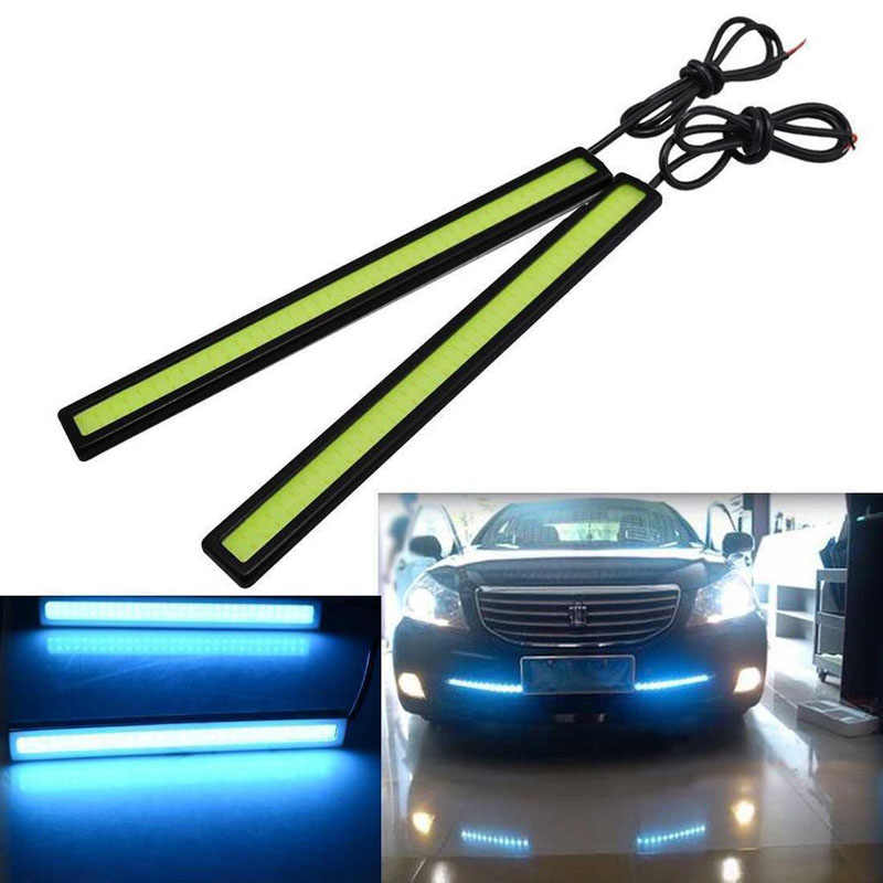 Waterproof 17cm COB 4 Colors Car LED Lights 12V for DRL Fog Light Driving lamp