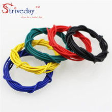 5 meters UL 1007 26awg Stranded Wire Electrical Wire Cable Line Airline Copper PCB Wire DIY 10 colors selection все цены