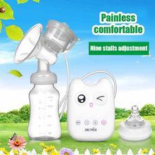 С Рождеством христовым USB электрический молокоотсос medela автоматический массаж детское молоко насос соска всасывания насоса кормления baby bottle ER367(China (Mainland))