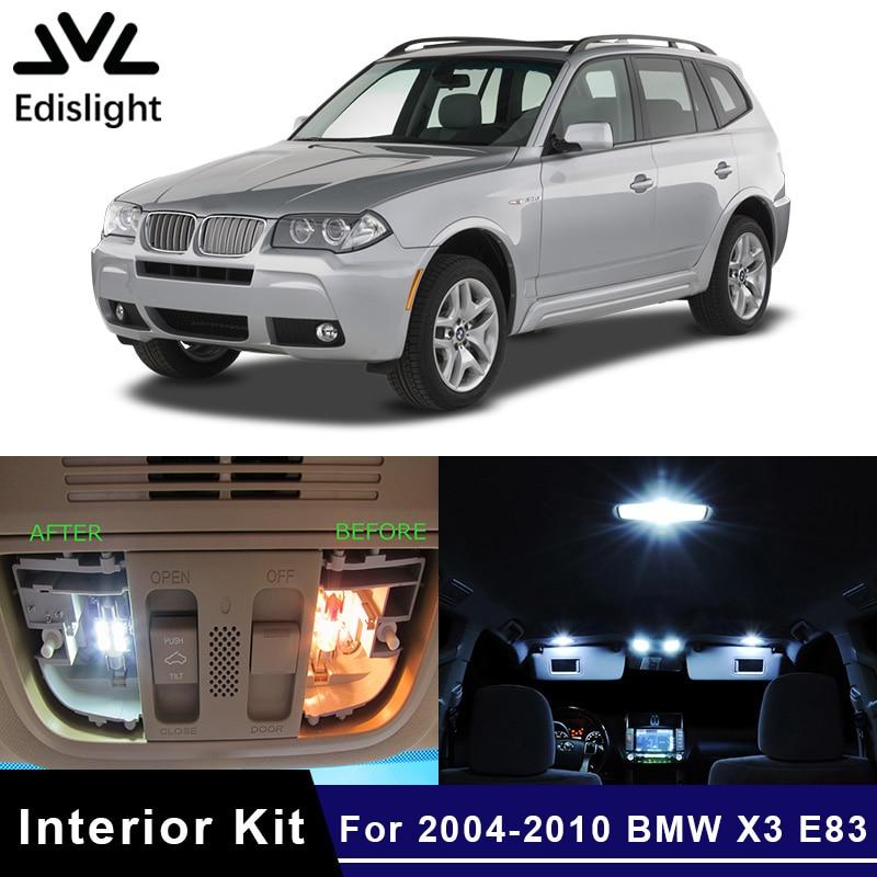 LED Illuminazione Targa Bianco 6000k per BMW x5 e70 x6 e71