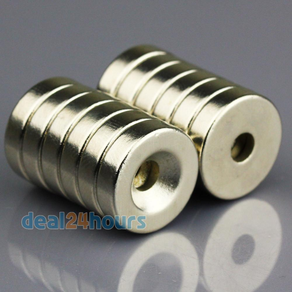 10pcs small round ndfeb neodymium disc magnets dia 15mm x for Small round magnets crafts