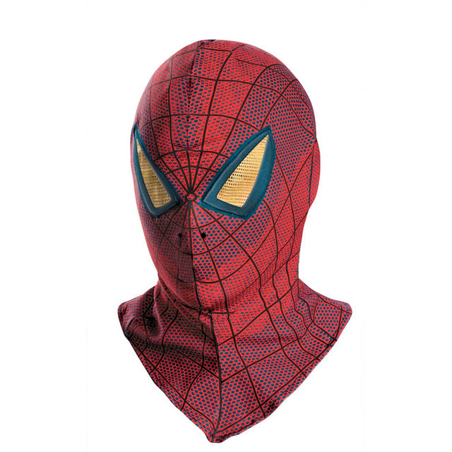 Classic Spider-man costume 3D Printing Superhero Hood mask face,halloween cosplay party zentai suit