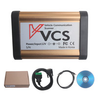 2014 New Arrivals VCS Interface Vehicle Communication Scanner Interface VCS Scanner Multi Languages Wide Range Cars