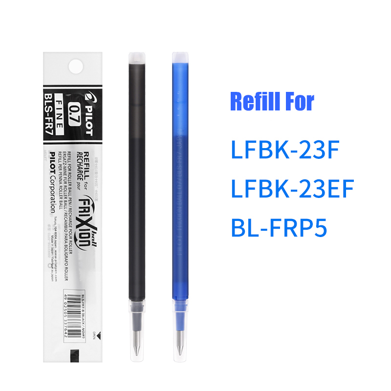 LifeMaster Pilot FriXion 0.7mm Erasable Gel Pen Refills BLS-FR7  (For Pilot LFB-20EF/LFBK-23F) Black/Blue/RedLifeMaster Pilot FriXion 0.7mm Erasable Gel Pen Refills BLS-FR7  (For Pilot LFB-20EF/LFBK-23F) Black/Blue/Red