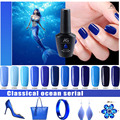 Bluesky Gel Nail Polish High Quality Long-lasting Soak Off UV LED Varnish Beauty Nail Art Tools 12 colors 12ml