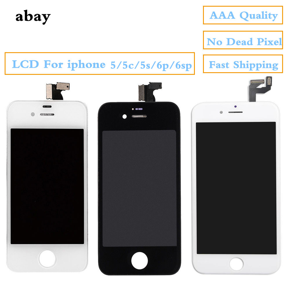 Replacement LCD For <font><b>iPhone</b></font> 6 6s plus Display Touch Capacitive Screen Digitizer Assembly for <font><b>iPhone</b></font> <font><b>5</b></font> 5c 5s <font><b>Ecran</b></font> Pantalla image