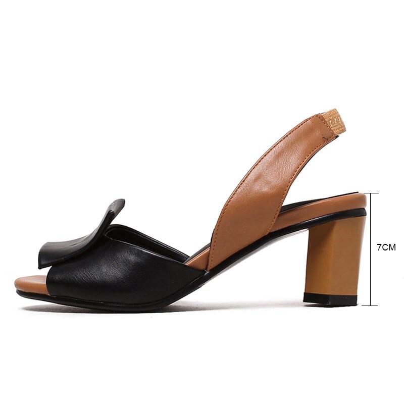 7e35d31728 Fanyuan 2018 Sapatas do Verão Mulher Sandálias cores Misturadas sandálias  das senhoras À Moda de Volta cinta Vestido Das Mulheres Do Partido Sapatos  de ...
