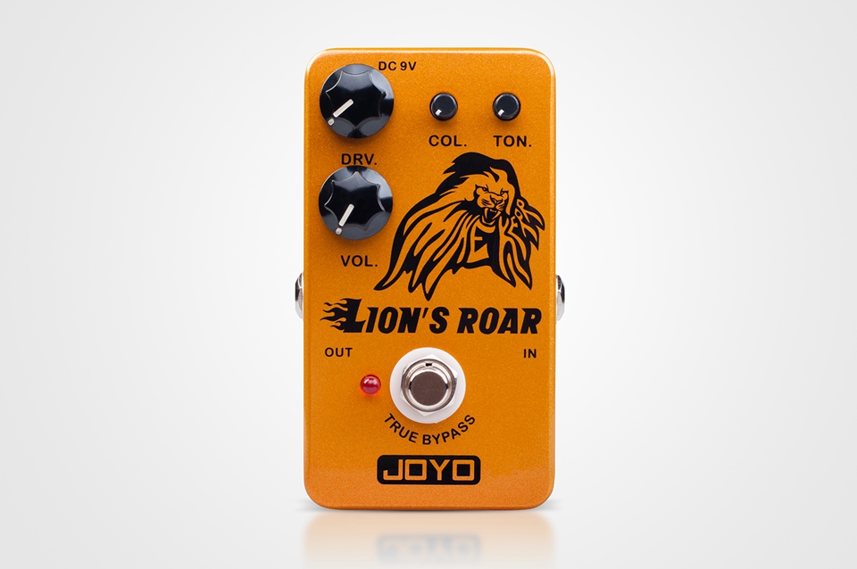 JOYO Overdrive Guitar Effect pedal Features Vintage Tube Amp's Overdrive Tone JF-MK A Signature Pedal For Mike Kerr