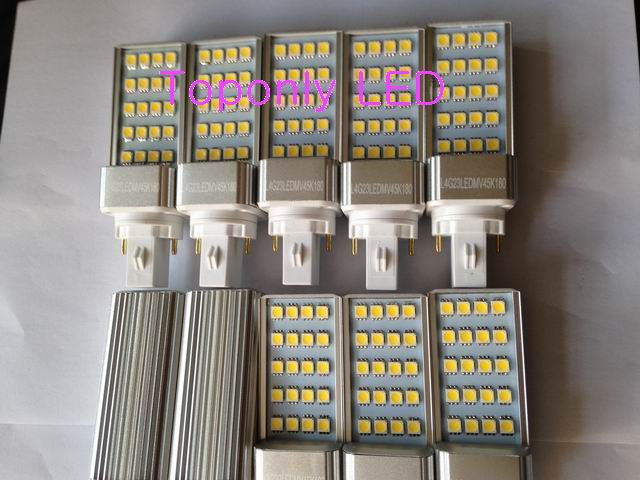 4w G23 Epistar 5050SMD font b Led b font Plug Light White Color AC85 300V Inner