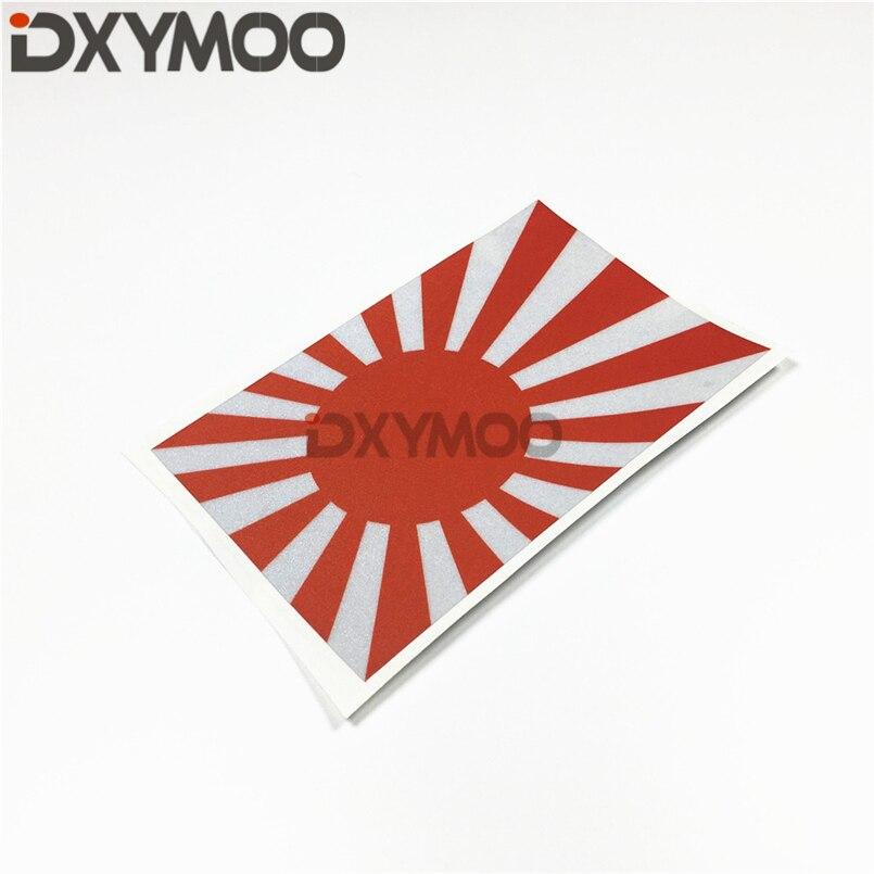 Car Sticker Decals Japanese Sun Hellaflush National Flag Japan WORKS Motorcycle Sticker Bumpers 150x90mm