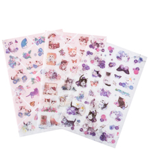 20packs/lot Kawaii  Japanese And Wind Cat Decorative Scrapbooking Stickers DIY Diary Album Sticker Label Wholesale