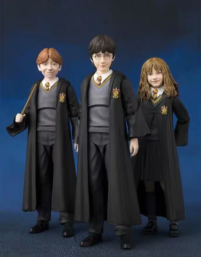 Model-Toys Action-Figure Sorcerer's-Stone Figuarts Granger Young-Hermione Ronw Cute The