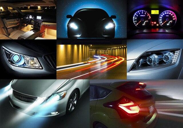 T5 74 White 1 SMD 5050 Dashboard Wedge LED Light Bulb Lamp led car bulbs interior Lights reading light parking bulbs 12V 4