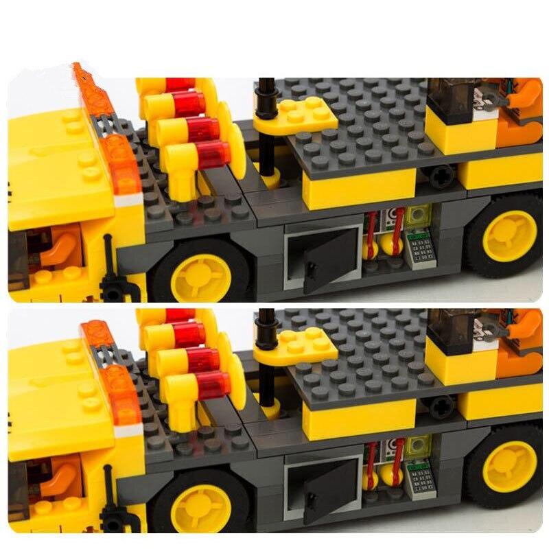 Hot KAZI 8045 Engineering City Construction Crane- ը - Կառուցողական խաղեր - Լուսանկար 2