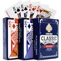 Новый 100% пластик карточные игры водостойкие ПВХ Покер Карточная Бумага Настольная игра игральные карты носимых и моющиеся 2,28*3,46 дюймов - фото