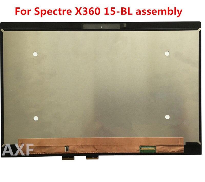 Pour Spectre X360 15-BL 15 BL 012DX écran LCD + NV156QUM-N72 de montage numériseur tactile
