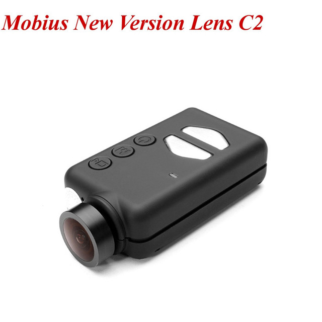 C2 Mobius Nueva Versión Lente Gran Angular 1080 P HD Mini Cámara de La Acción