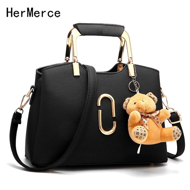 2018 Fashion PU Leather Ladies Bag Womens Shoulder Bag High Quality Woman Handbag Female Tote Bags Casual Women Crossbody Bags
