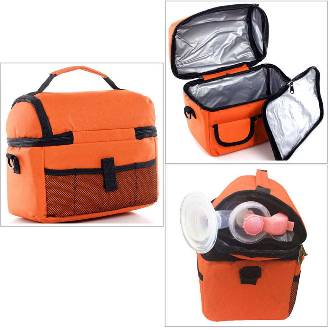 New Portable Insulated Lunch Bag for Women kids Lunch Box Carry Storage Travel Cooler Picnic Food
