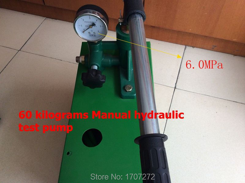 free shipping Hand movement 6.0mpa vacuum water pump for