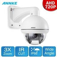 ANNKE HD AHD 720 P мини 3X зум PTZ ИК Ночное видение 30 м мониторинга Камера всепогодный IP66 видеонаблюдения Системы комплект