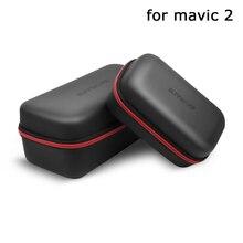 Дополнительно Портативный PU сумка водонепроницаемый износостойкий коробка мини чехол для переноски для Mavic 2 Pro/Zoom Drone корпус пульт дистанционного управления