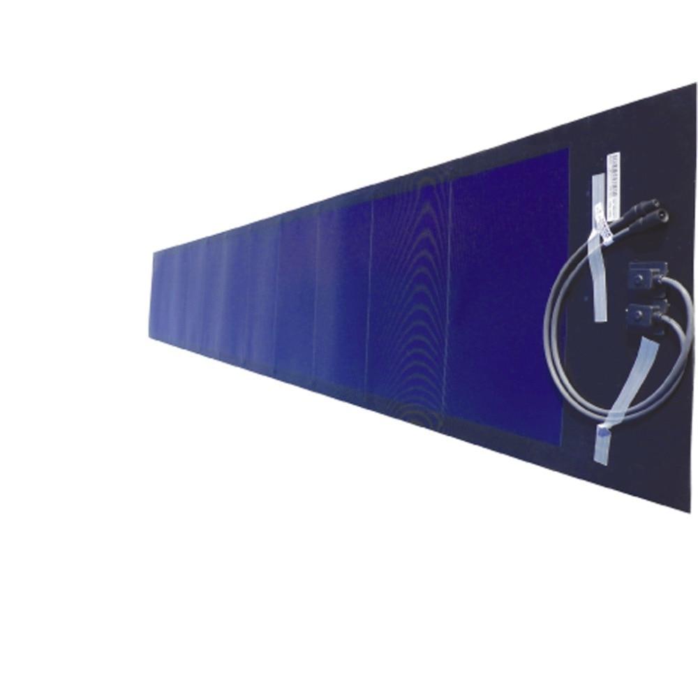 Cellule Photovoltaïque En Silicium Amorphe intérieur pvl 144 144w 33v thin film solaire flexible membrane panneau solaire