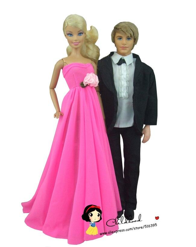 Envío libre 2 sets = rose color rosa boda vestido de noche vestido ...