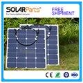 Solarparts 2x50 Вт бесплатная отправка гибкие Солнечные Панели 12 В Солнечная система солнечный модуль солнечных батарей открытый RV/морской/лодка дешевые продаж