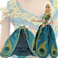 Gorgeous Limited Edition Jurk Prinses Sprookje Outfit Kleding Voor Barbie Doll 11.5