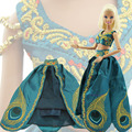 "Gorgeous Limited Edition Princess Dress Fairy Tale Outfit Clothes For Barbie Doll 11.5"" 12"" Puppet Girl Love Collection Toy Gift"
