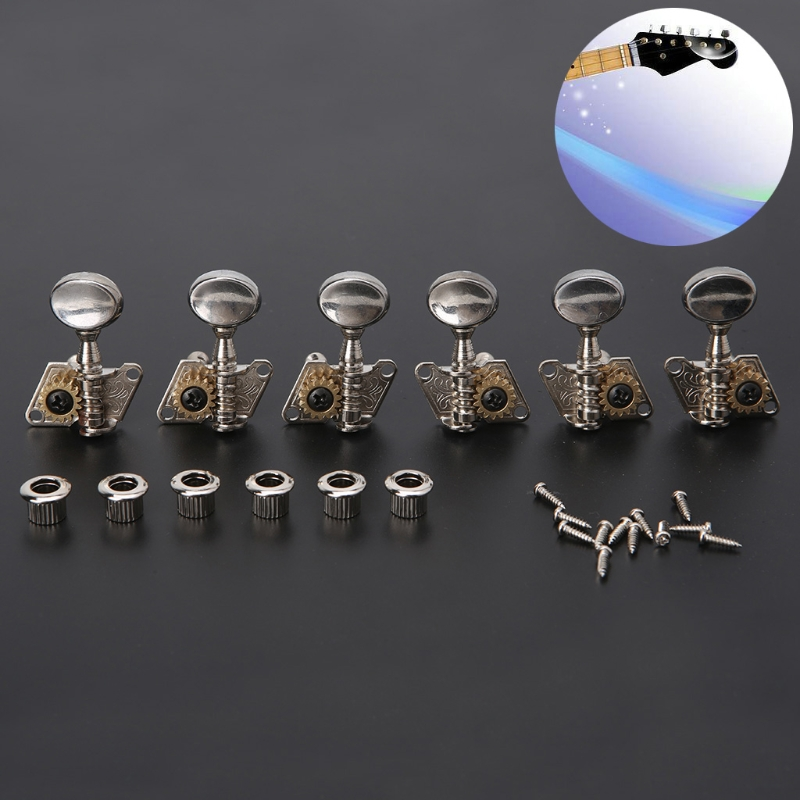 acoustic folk guitar open tuning peg tuners machine heads for replacement parts 35 6l 3 in. Black Bedroom Furniture Sets. Home Design Ideas