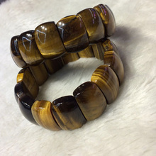natural tiger eye stone beads bracelet gemstone bangle for man gift wholesale !