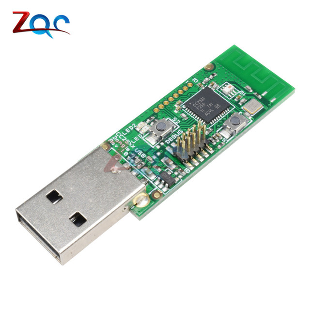US $5 05 26% OFF|Wireless Zigbee CC2531 Sniffer Bare Board Packet Protocol  Analyzer Module USB Interface Dongle Capture Packet-in Instrument Parts &